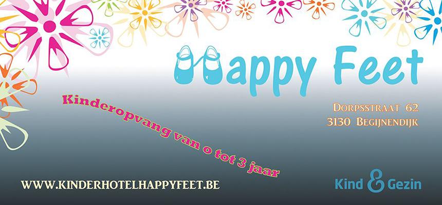 Kinderopvang Happy Feet Flyer