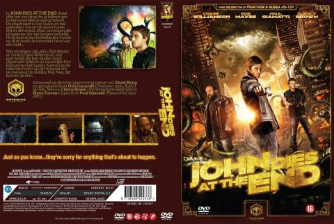 John Dies at the End DVD Cover